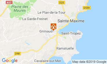 Mappa Saint Tropez Monolocale 118192