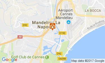 Mappa Mandelieu la Napoule Appartamento 70823