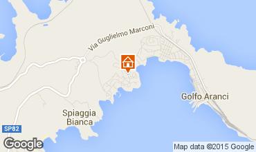 Mappa Golfo Aranci Villa  45862