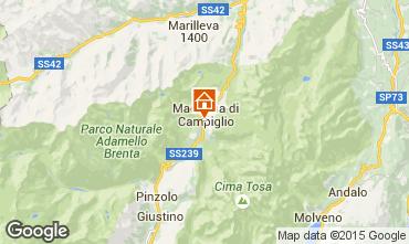 Mappa Madonna di Campiglio Appartamento 81910