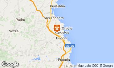 Mappa San Teodoro Appartamento 83258