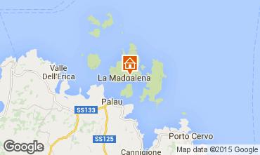 Mappa La Maddalena Appartamento 97946