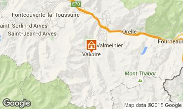 Mappa Valloire Appartamento 82534