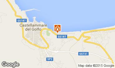 Mappa Castellammare del Golfo Appartamento 48591