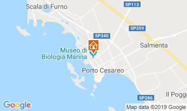 Mappa Porto Cesareo Appartamento 83720