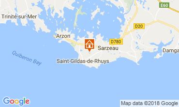 Mappa Saint Gildas de Rhuys Casa 10922