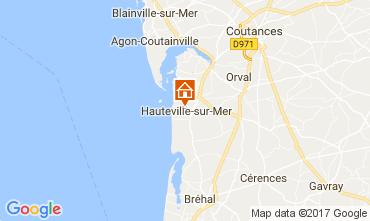 Mappa Hauteville-sur-Mer Agriturismo 40949