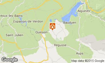 Mappa Artignosc-sur-Verdon Casa 93663