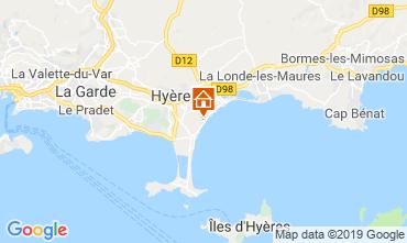 Mappa Hyères Casa mobile 117992