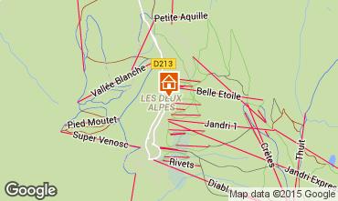 Mappa Les 2 Alpes Appartamento 26960