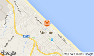 Mappa Riccione Appartamento 48193