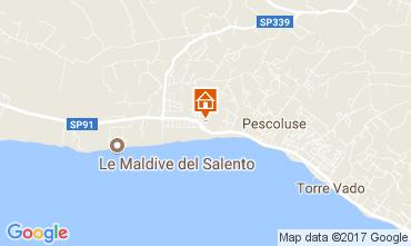 Mappa Pescoluse Appartamento 110707