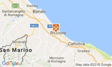 Mappa Riccione Appartamento 114901