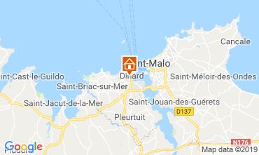 Mappa Dinard Appartamento 119857