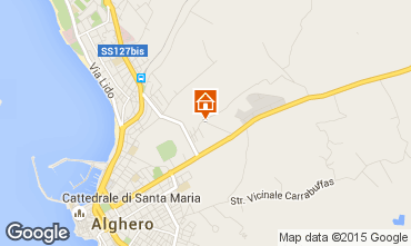 Mappa Alghero Villa  59944