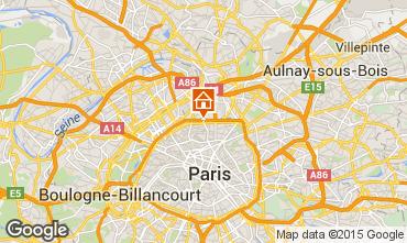 Mappa PARIGI Appartamento 13743