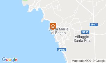Mappa Santa Maria al Bagno Appartamento 89099