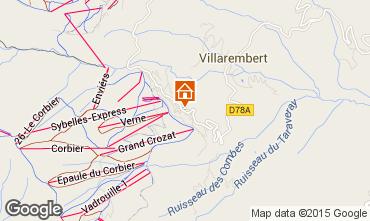 Mappa Le Corbier Appartamento 102056