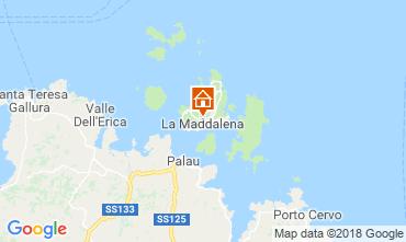 Mappa La Maddalena Appartamento 114869