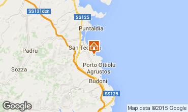 Mappa San Teodoro Appartamento 75391