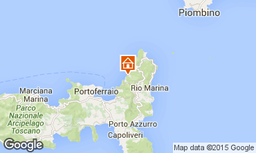 Mappa Rio nell'Elba Appartamento 85148