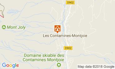 Mappa Les Contamines Montjoie Appartamento 111733