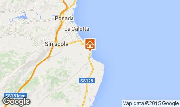 Mappa Siniscola Appartamento 81005