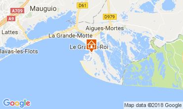 Mappa Le Grau du Roi Villa  90171