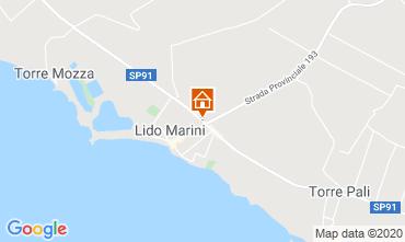 Mappa Lido Marini Villa  86584