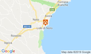 Mappa Noto Villa  118337