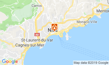 Mappa Nizza Monolocale 99387