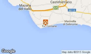 Mappa Tre Fontane Appartamento 78356