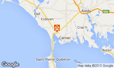 Mappa Carnac Casa 10696