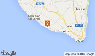 Mappa Lido Marini Villa  86623