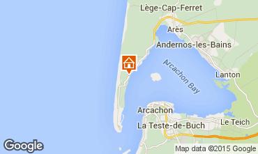 Mappa Cap Ferret Villa  9409