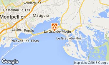 Mappa La Grande Motte Monolocale 98959