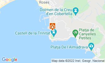 Mappa Rosas Appartamento 68687