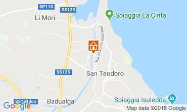 Mappa San Teodoro Appartamento 114624