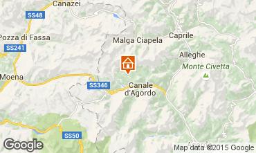 Mappa Falcade Appartamento 94729