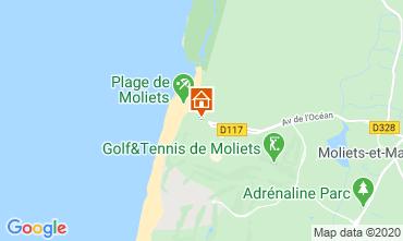 Mappa Moliets Casa 110941