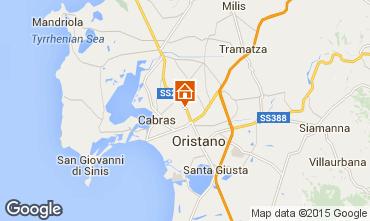 Mappa Oristano Casa 43170