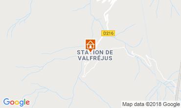 Mappa Valfréjus Appartamento 73056
