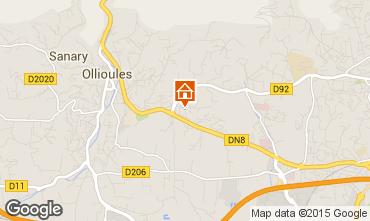 Mappa Ollioules Villa  89864