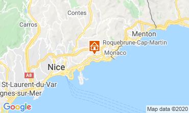 Mappa Monaco Villa  5424