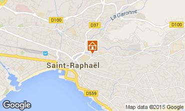 Mappa Saint Raphael Appartamento 5623