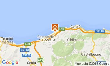 Mappa Cefal� Villa  76789