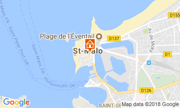 Mappa Saint Malo Appartamento 115835