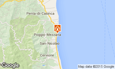 Mappa Moriani Plage Villa  7795