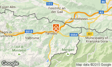 Mappa Tarvisio Chalet 24766