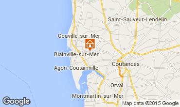 Mappa Blainville-sur-Mer Agriturismo 60256